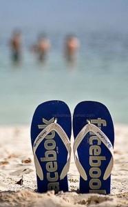 papuci plaja Facebook