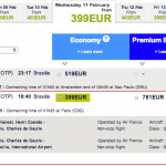 Brasilia - oferta bilete Air France 3
