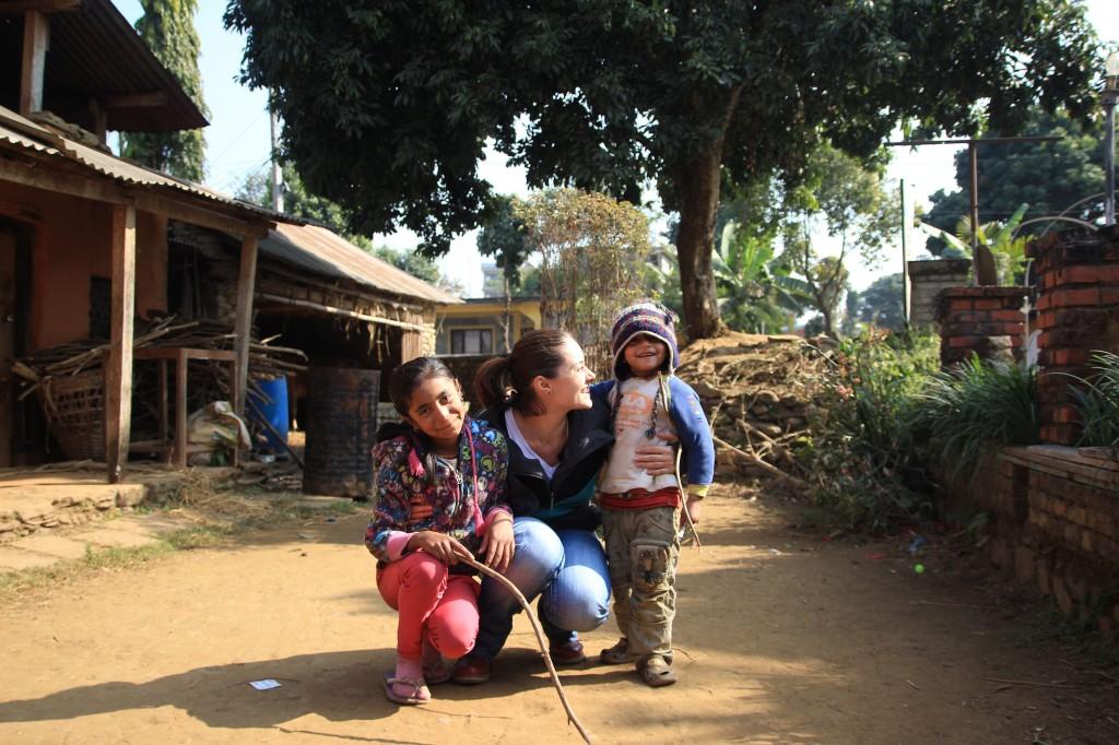 Nepalese kid