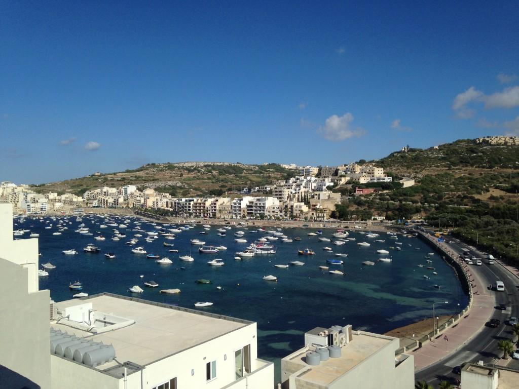 vedere din cazare malta - porto azzurro