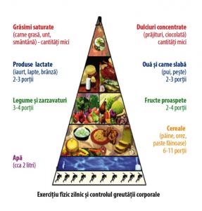 Piramida consum alimente