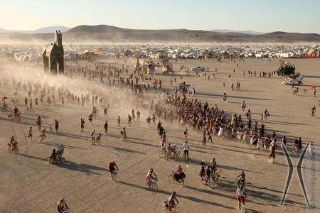 Burning man _ trojan horse