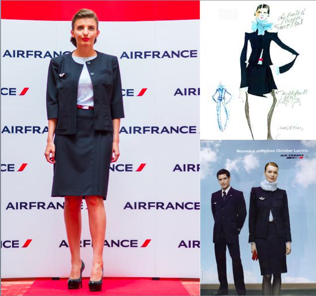 Air France uniforme 1