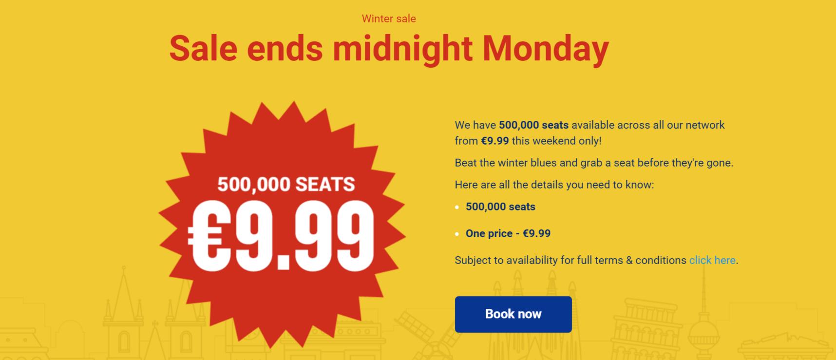 oferta bilete Ryan Air