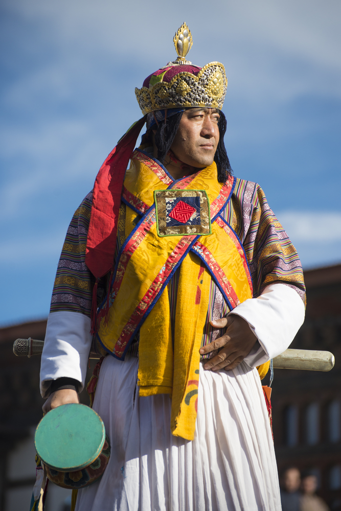 Bhutan king