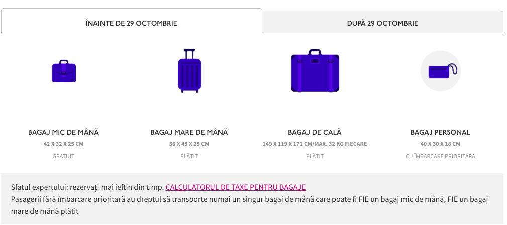 bagaje wizz